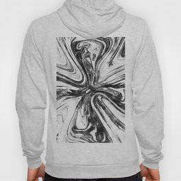 Abstract Cross - Watercolor Hoody
