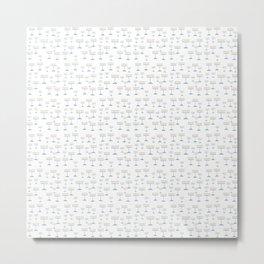 Menorah 18 Metal Print