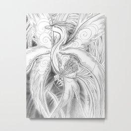 Phoenix Flight Metal Print