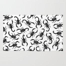 Scorpion Swarm Rug