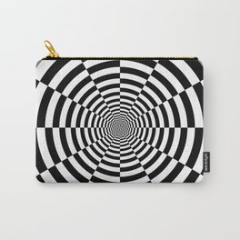 Sliced Circle Target Carry-All Pouch