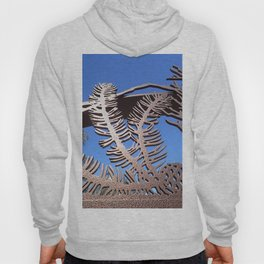 Pine branch blue skies Hoody