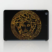 medusa iPad Cases featuring medusa by ECSTATIC