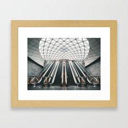 Triangeln metro station Framed Art Print