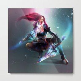 Ninja Metal Print