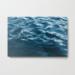 Water waves Metal Print