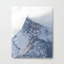 Mount Rundle Sunrise Metal Print