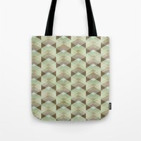whisky Tote Bags featuring Hipster Pattern  by Schwebewesen • Romina Lutz
