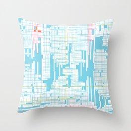 Grid Throw Pillow