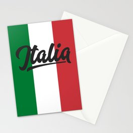 Italian Flag Stationery Cards