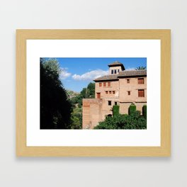 La Alhambra Framed Art Print