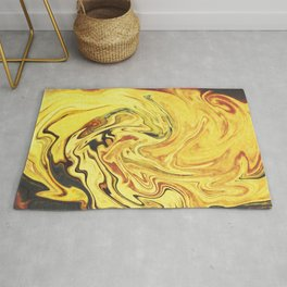 Abstract Painting X.3 Rug