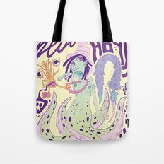 Lady Marine Tote Bag