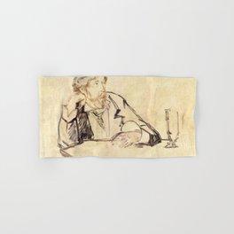 Edouard Manet - George Moore (1852–1933) at the Café Hand & Bath Towel