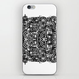 Disorganized Speech #6 iPhone Skin