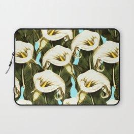 Pattern floral Ethiopian-Calla Laptop Sleeve