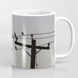 Pigeon Meeting Coffee Mug