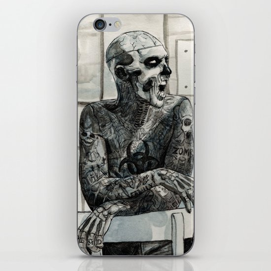 Zombie Boy iPhone Skin