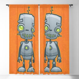 Silly Robot Blackout Curtain