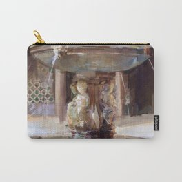 Cupid's Fountain Carry-All Pouch