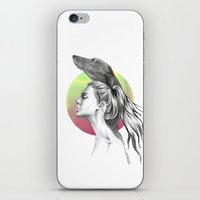 the hound iPhone & iPod Skins featuring The Hound by eDrawings38