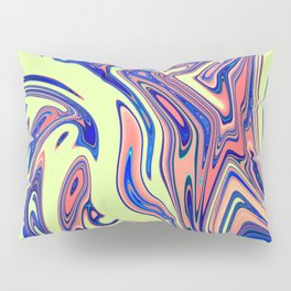 Candy Lime Stone Marble Design Pillow Sham