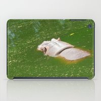hippo iPad Cases featuring Hippo by Doodlevania