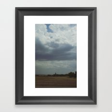 My Thoughts on the Midwest Part II Framed Art Print