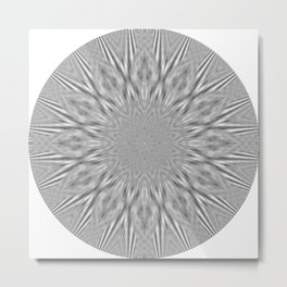 Centric Migraine Metal Print