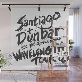 Santiago + Dunbar Wavelength Tour '03 Wall Mural
