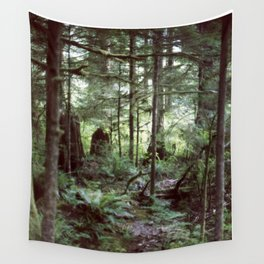 Vancouver Island Rainforest Wall Tapestry