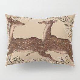 Jumping Deer Pillow Sham