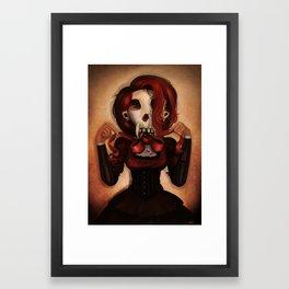 Skull Theatre Framed Art Print