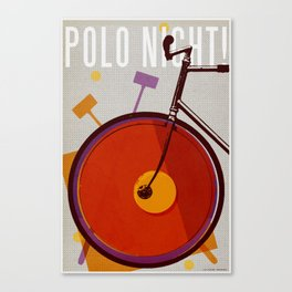Polo Night! | Polo Canvas Print