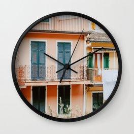 Manarola, Cinque Terre VII Wall Clock