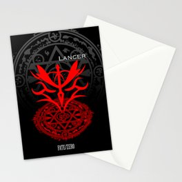 Fate/Zero Lancer Stationery Cards