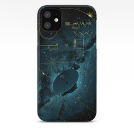 Voyager and the Golden Record - Space | Science | Sagan iPhone Case