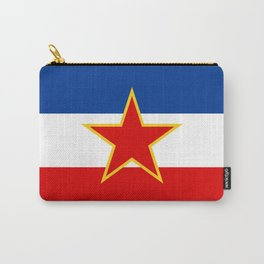 Flag of Yugoslavia Carry-All Pouch