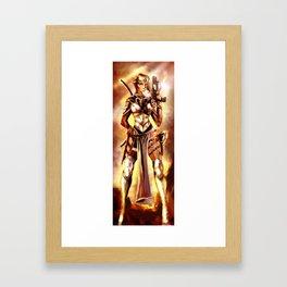 mercernary Framed Art Print