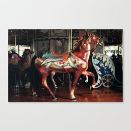 The Rose Horse Canvas Print