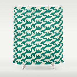 Nintendo .green Shower Curtain