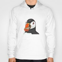 puffin Hoodies featuring Puffin' Puffin by t-shirt lifter