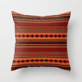 Navajo one Throw Pillow