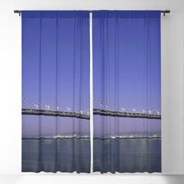San Francisco Oakland Bay Bridge USA - Blackout Curtain