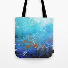 Blue Suede Blues Tote Bag
