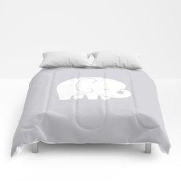 Mod Baby Elephant Grey Comforters