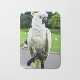 Friendly Cockatoo Bath Mat