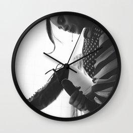 Spitter Wall Clock