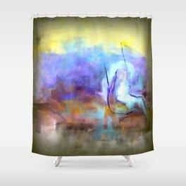 Her Imaginary Swing Shower Curtain