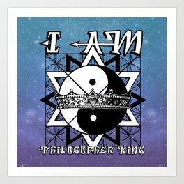 I AM - Philosopher King Art Print
